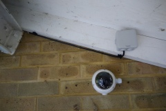 CCTV camera installation by www.Cabling.Team
